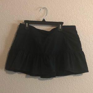 Lululemon Black Skort Size 8